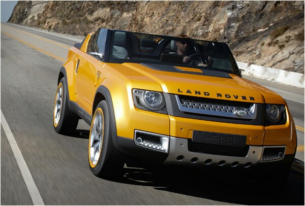 land rover car concept