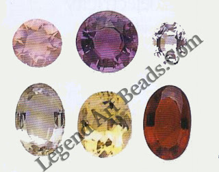 IMPURE OF HEART- Colourless rock crystal is the purest form of quartz, the many other colours being caused by impurities. Amethyst and citrine contain iron, rose quartz contains titanium and iron, and smoky quartz contains aluminum.
