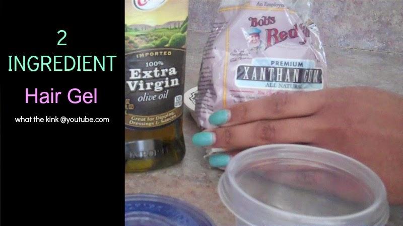 2 Ingredient Hair Gel