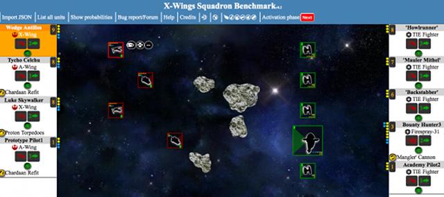 Benchmark a squadron