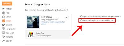 Cara Memasang Komentar Google Plus