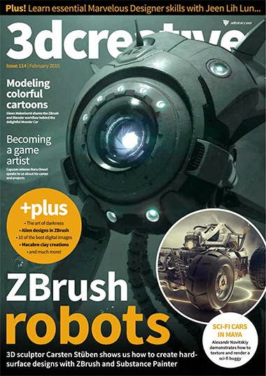 3D Creative Magazine Issue 114 February 2015