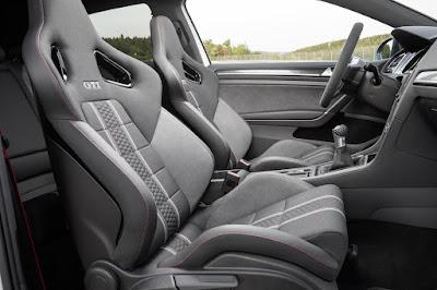 Butacas del Volkswagen Golf GTI Clubsport