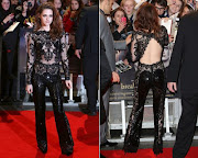. Zuhair Murad she wore to the London Twilight Premiere last night is just .
