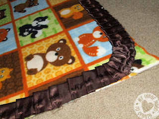 Pleated Ruffle Baby Blanket