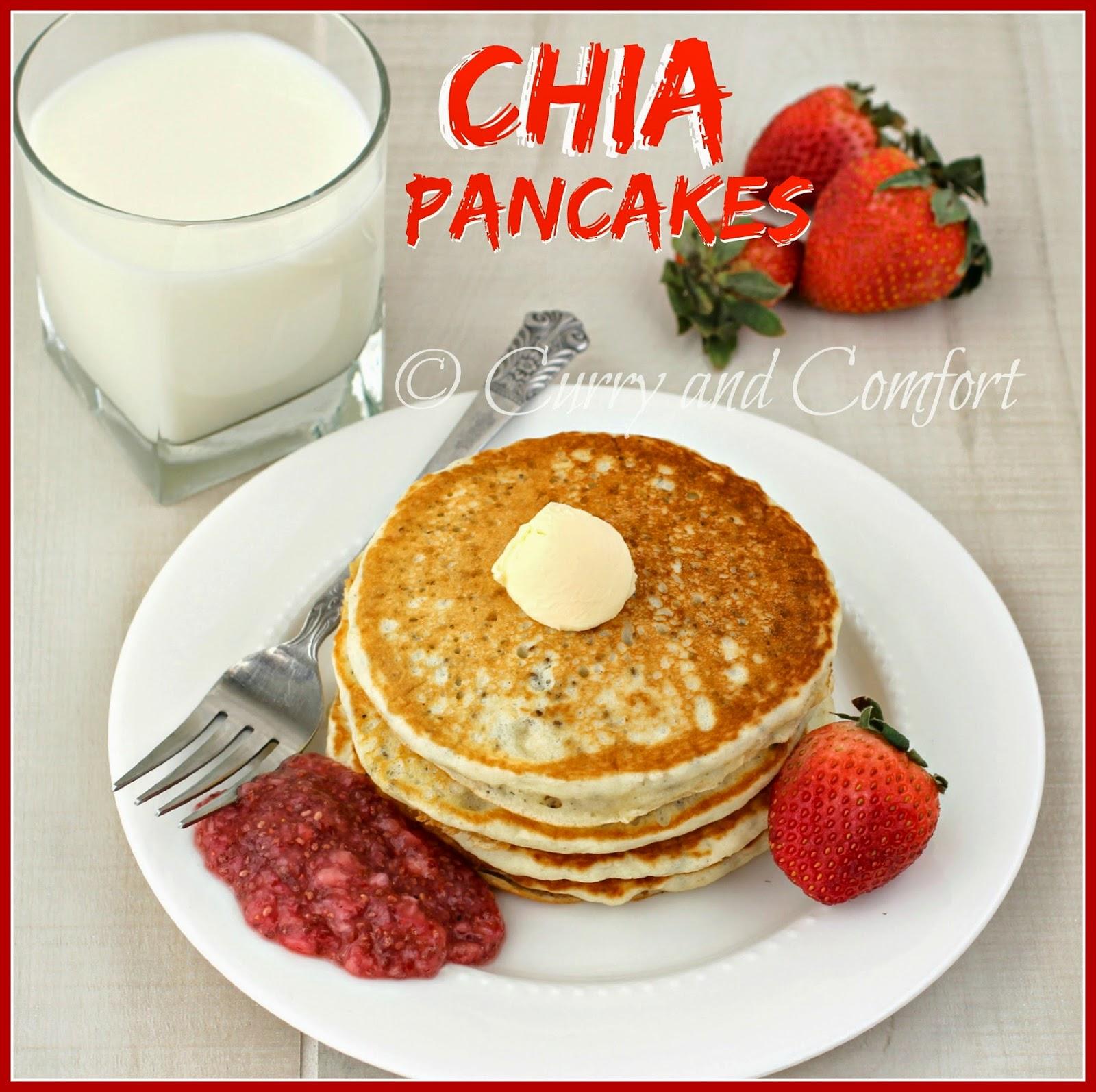 Kitchen Simmer: Chia Pancakes