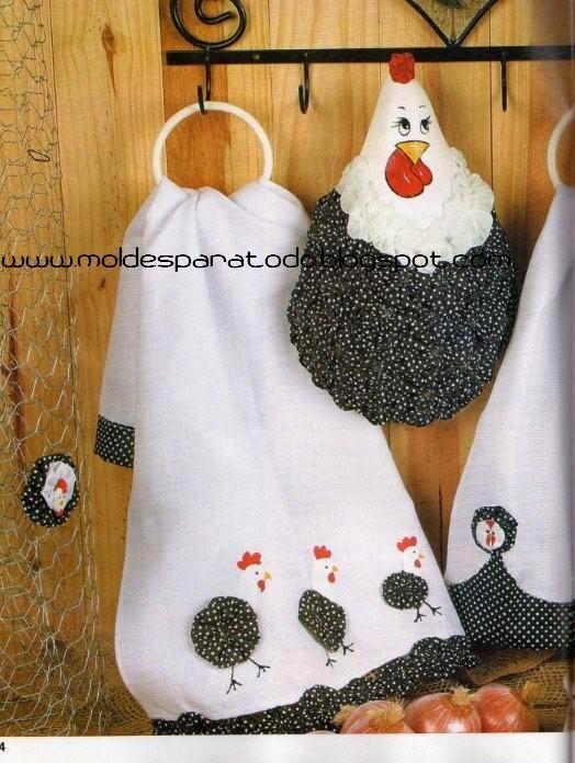 Moldes para todo kit de cocina gallinitas for Moldes de cocina