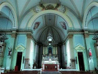 Interior da Igreja Matriz de Antônio Prado