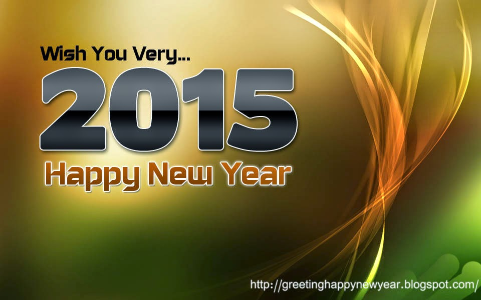 Happy New Year 2015 Wishing Cards Free Download