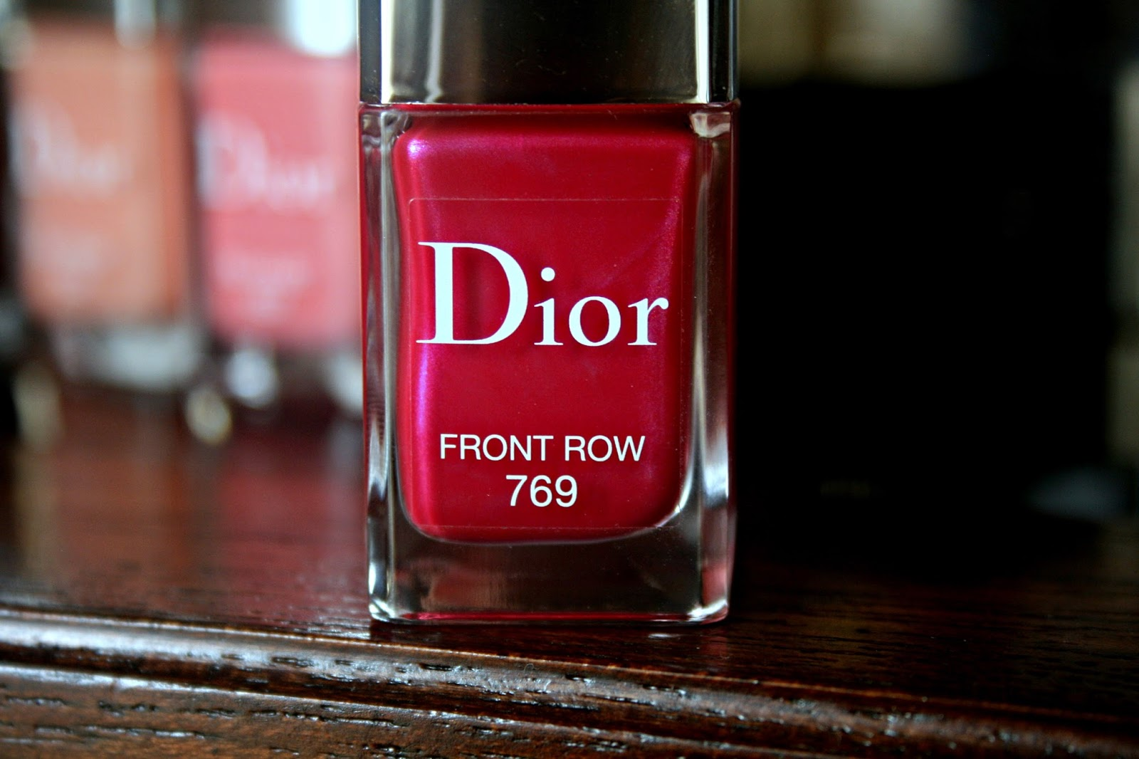 Dior Vernis Couture Colour Gel Shine and Long Wear Nail Lacquer Front Row 769