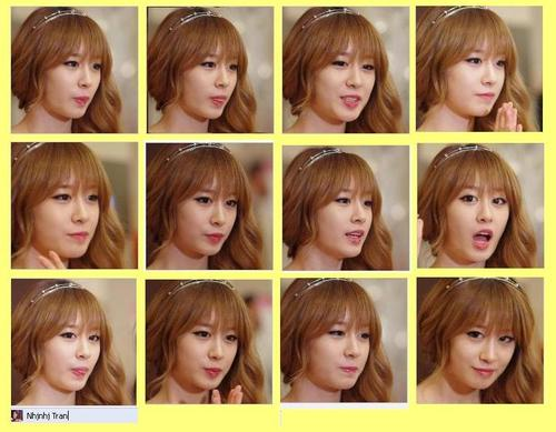12 Face Shoot Expression of JIYEON