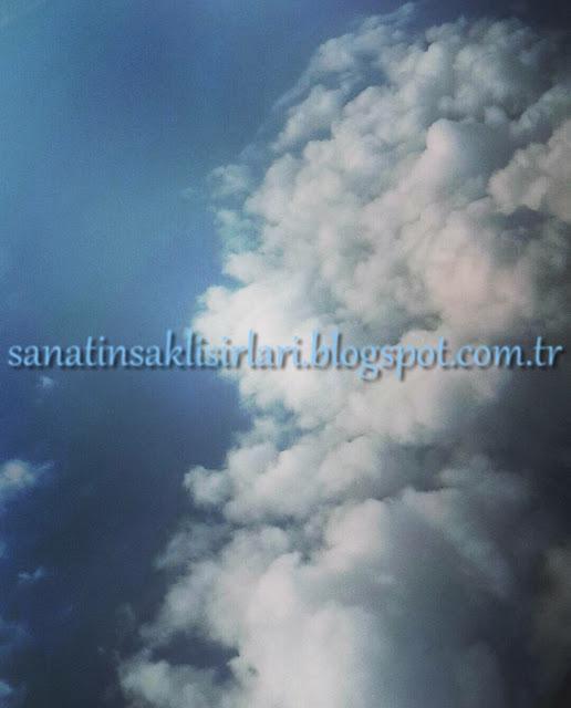 İçimden Gelenler / Bendeki Durumlar / gökyüzü bulutlar
