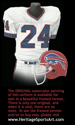 Buffalo Bills 1988 uniform