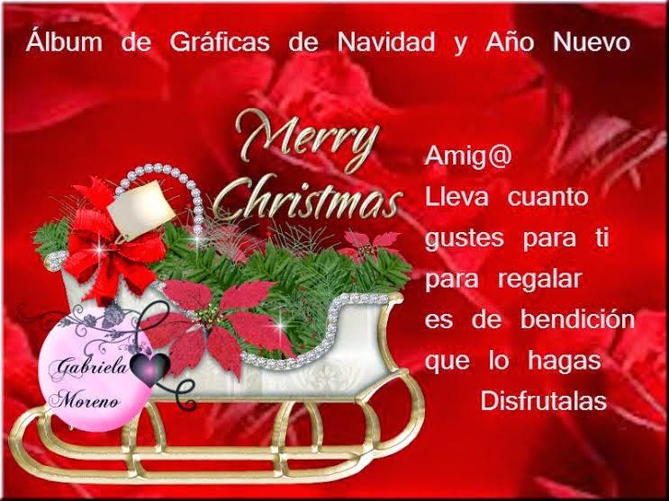 Álbum de Imágenes de Navidad y Año Nuevo Para Desear y Felicitar en estas Fiestas