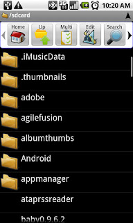 ASTRO File Manager Aplikasi Android