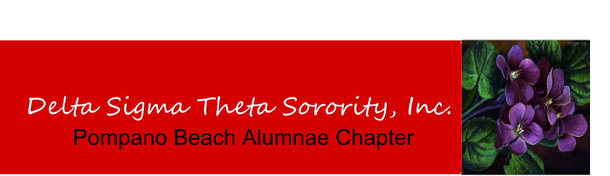 Delta Sigma Theta Sorority, Inc. - Pompano Beach Alumnae