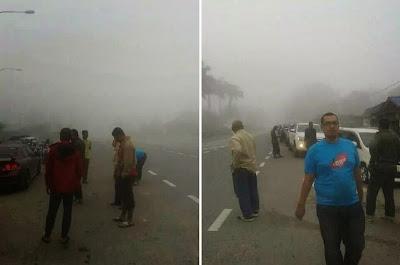 Cuaca Sejuk Luar Biasa Mula Melanda Kuala Krai