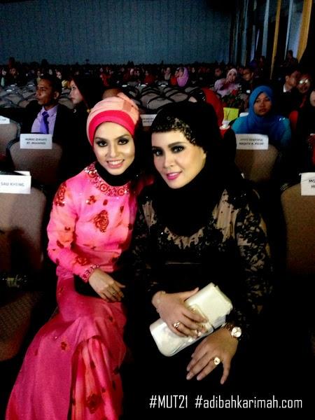 Adibah Karimah with Hanis Haizi