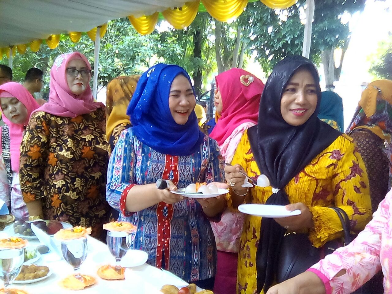 Istri Bupati Terpilih Ny.Tio Rita Terbit Rencana Hadiri Lomba Cipta Menu Pangan
