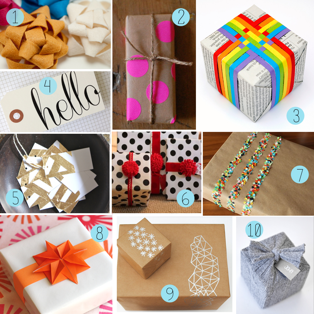 The How-To Gal: DIY Christmas Gift Guide: Gift Wrap - 2012