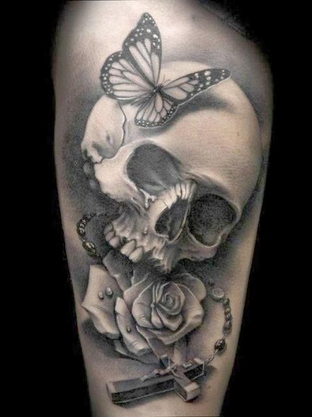 The Best Skull Tattoos (Gallery 1)