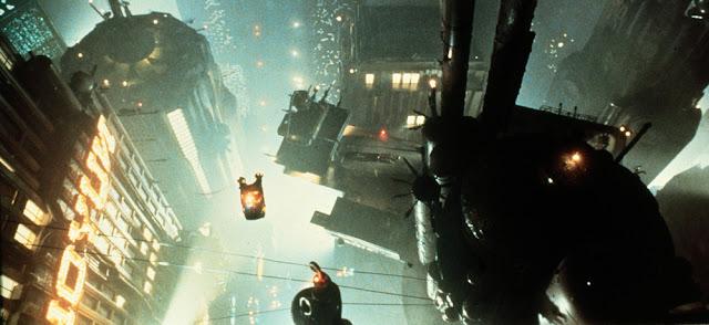 The cyberpunk world of Blade Runner