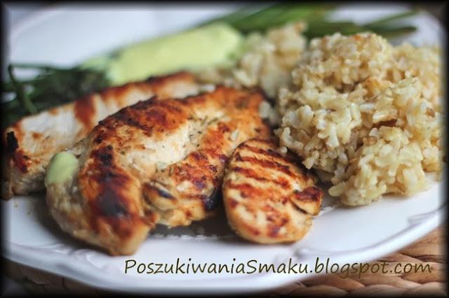 Kurczak musztardowy z grilla lub patelni, musztardowa marynata do mięsa