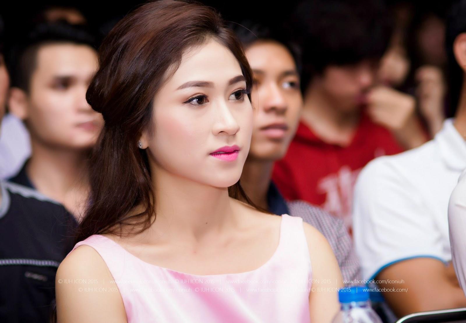 Miss ngôi sao Thùy Trang làm khách mời trao giải Nét đẹp sinh viên Công Nghiệp
