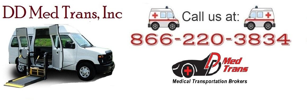 Non emergency medical transportation broker