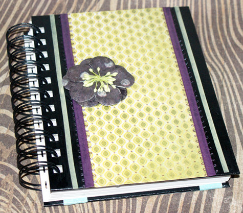 Easy to Craft DIY Decoupaged Journal