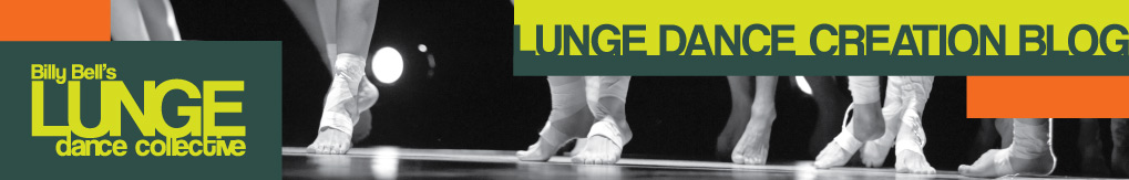 Lunge Dance Collective / Creation Blog