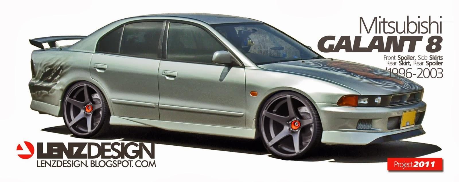 Mitsubishi Galant 8  '1996-2003