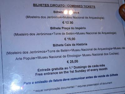 tickets monasterio jeronimos torre belem arqueologia
