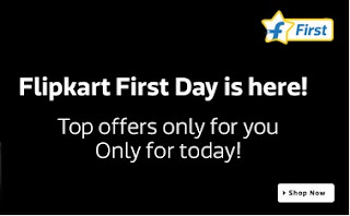 FlipKart First Day Offers 18th June