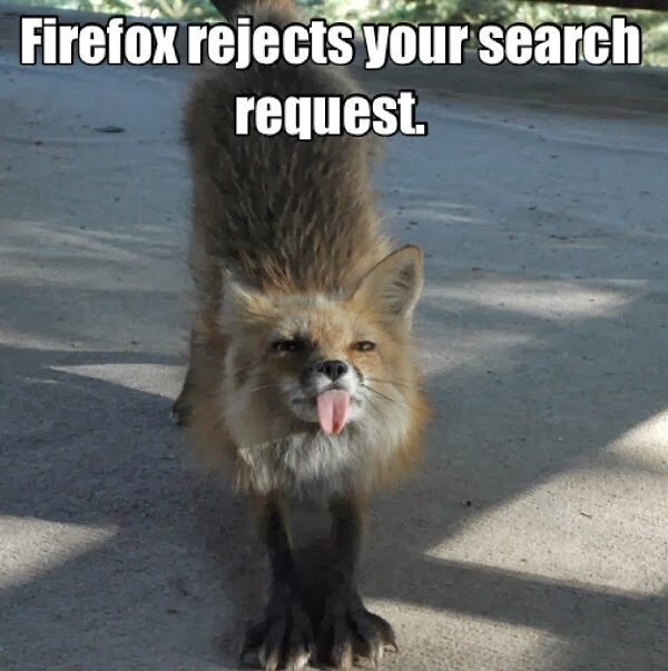 30 Funny animal captions - part 18 (30 pics), fox meme, firefox rejects your search request