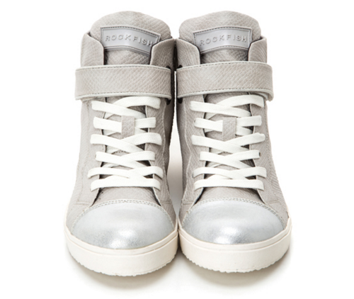 Strap Wedge Sneakers