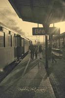 Peron nádraží v Břeclavi