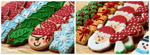 galletas decoradas, galetes decorades, galetes decorades de nadal, galletas decorades de nadal, calendari d'advent, calendario de adviento