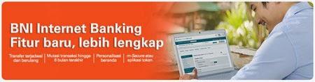 Biaya atau Tarif Internet Banking Bank BNI