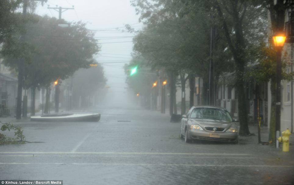 Hurricane Sandy West Virginia