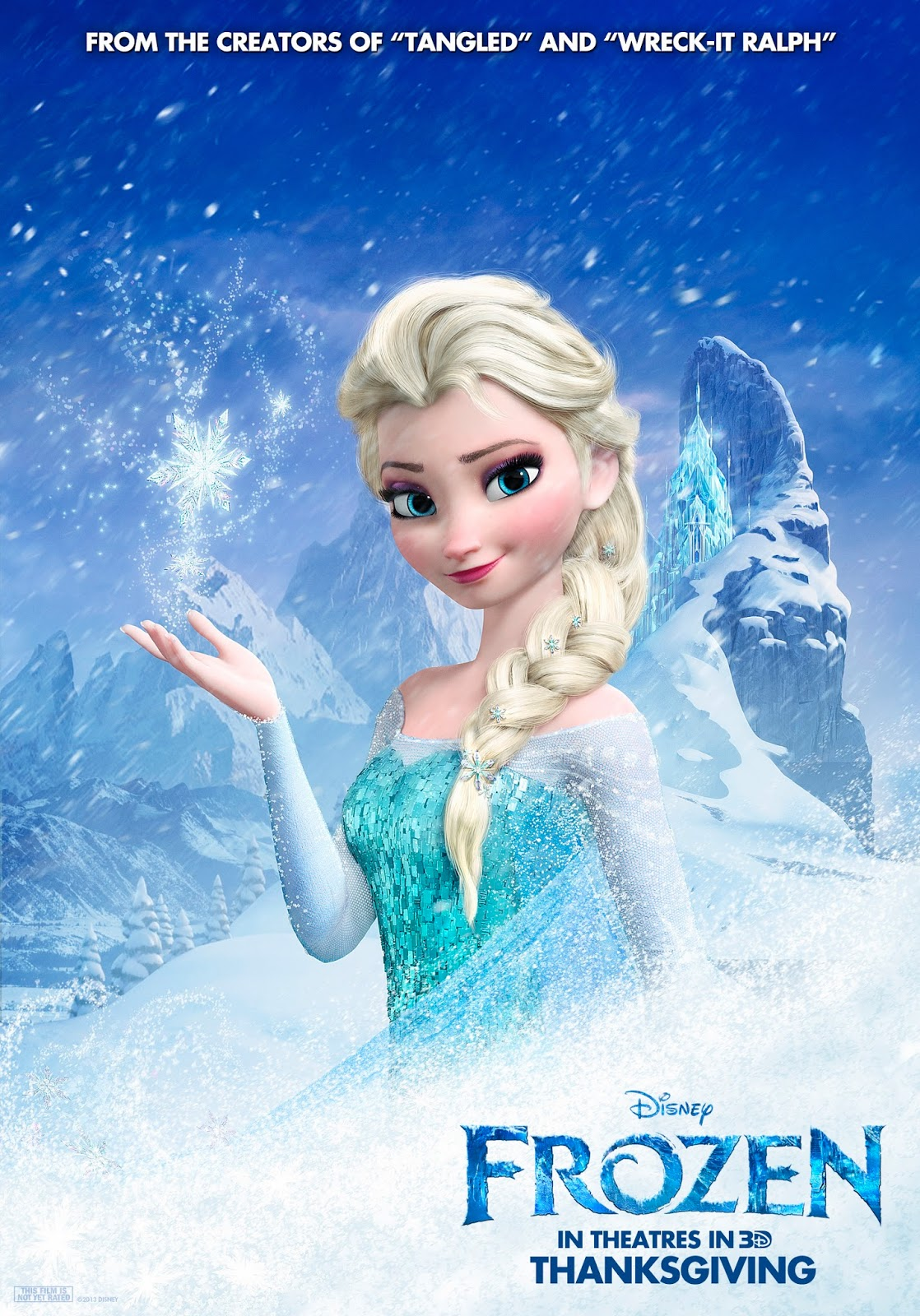 Frozen 3D Animation Poster in HD