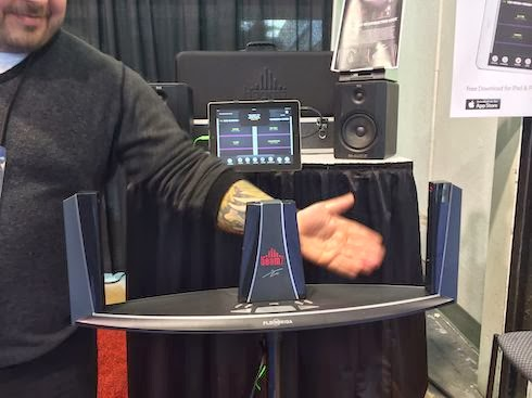 The Beamz at NAMM 2014 image