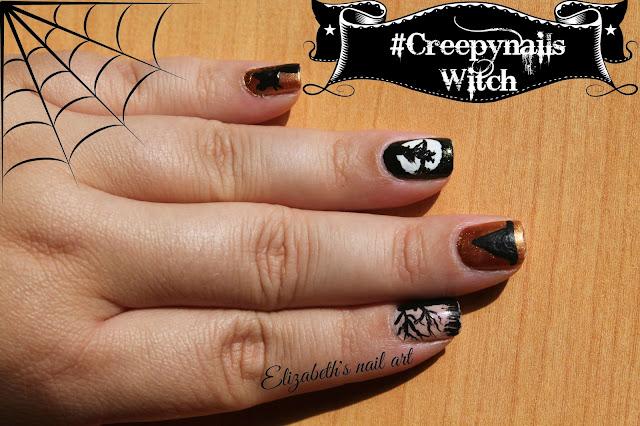 manicura halloween brujas