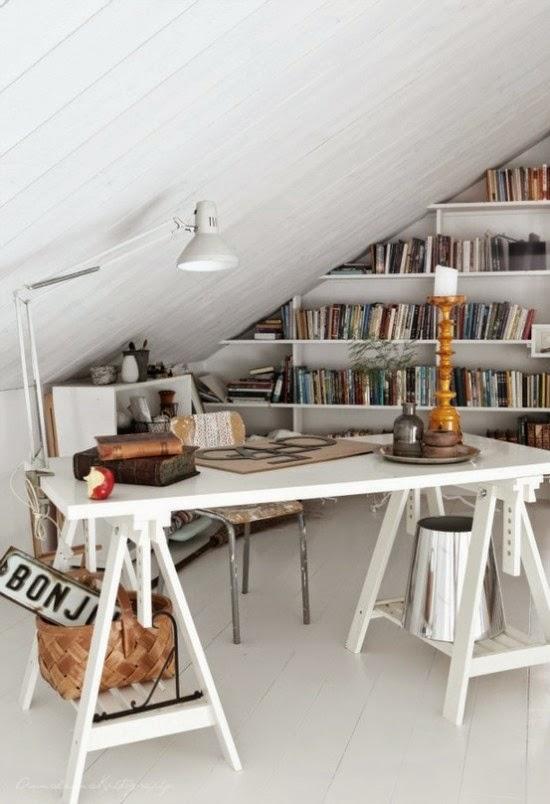 attic workspace