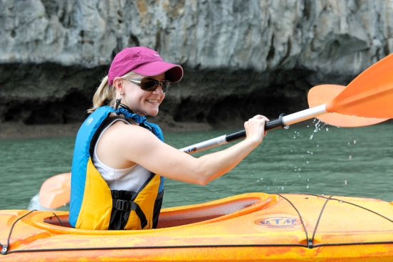 Kayak - White Dolphin Cruise