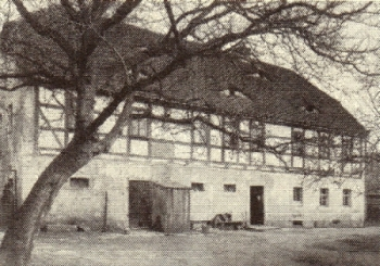 Das Lohengrinhaus um 1900