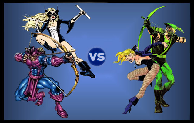 Hawkeye / Mockingbird vs Green Arrow / Black Canary