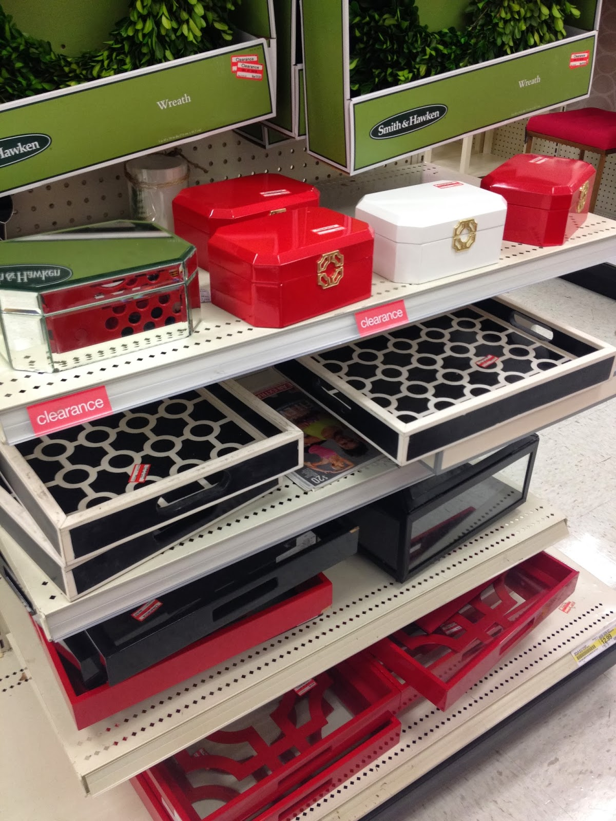 target clearance home decor serving trays