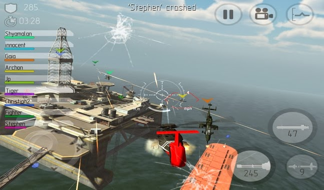 C.H.A.O.S Multiplayer Air War apk Download