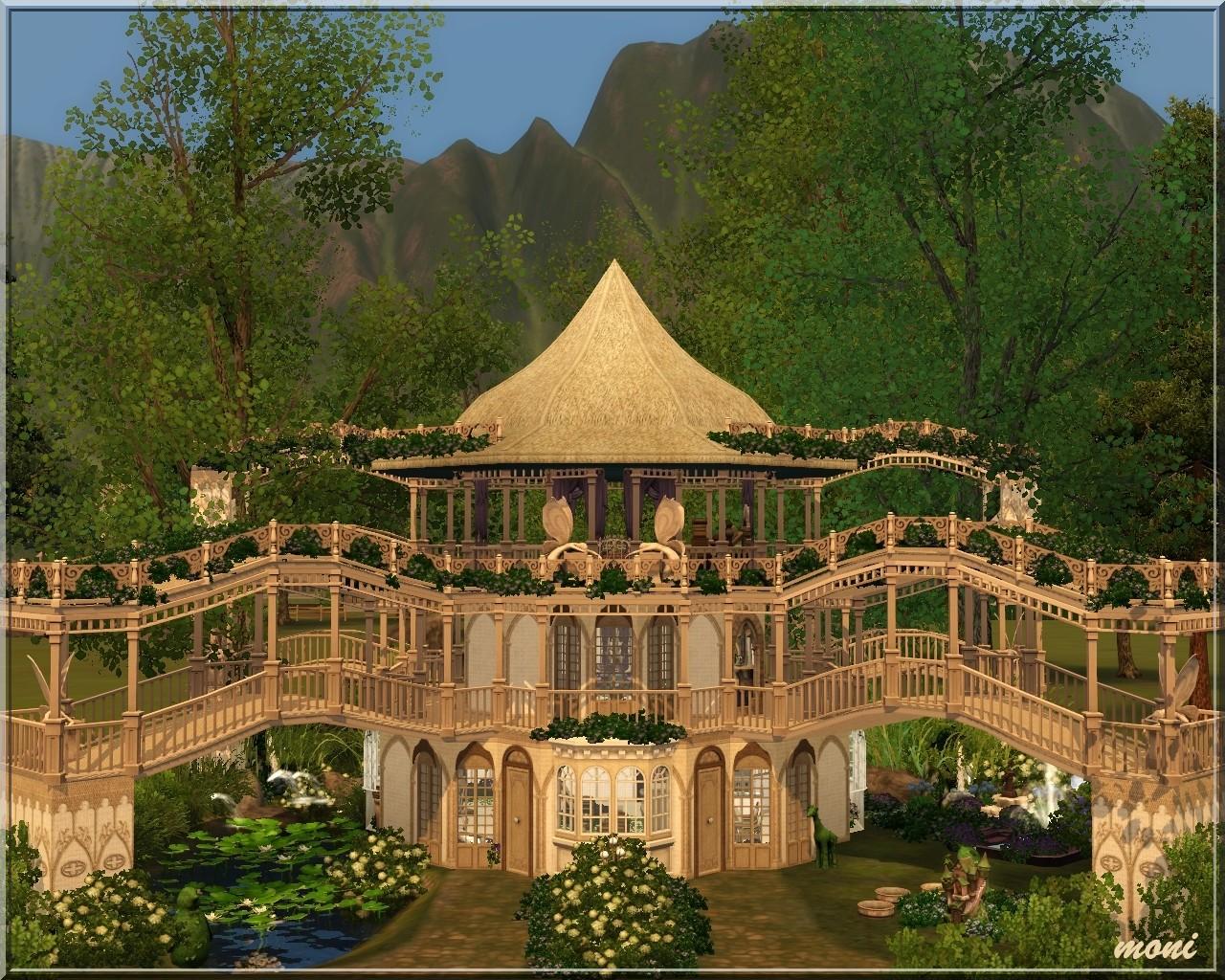 Arda sims fairy house for 3 4 house